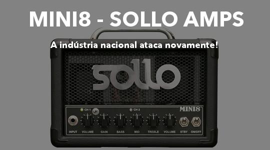 Valvulado de baixa potência Mini8 Sollo Amps