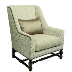 Marge Carson Chairs Teak Adirondack Gibson Lounge Chair