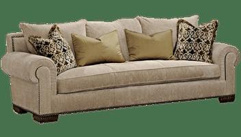 pomona sofa using throws on leather amara   marge carson