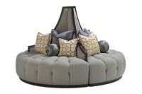 Mirage Round Sofa | Marge Carson