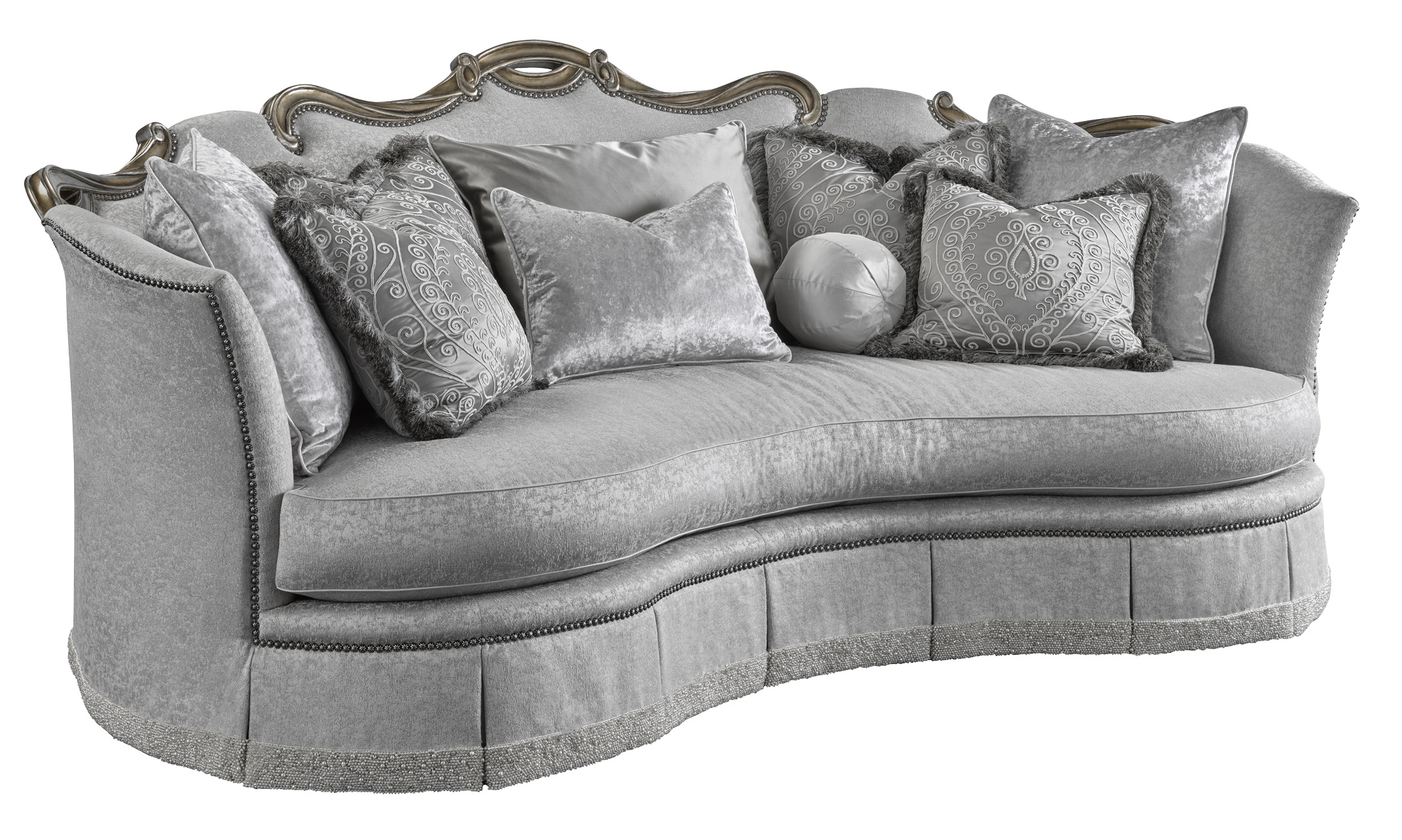 montreal sectional sofa in slate eating table marge carson upholstery