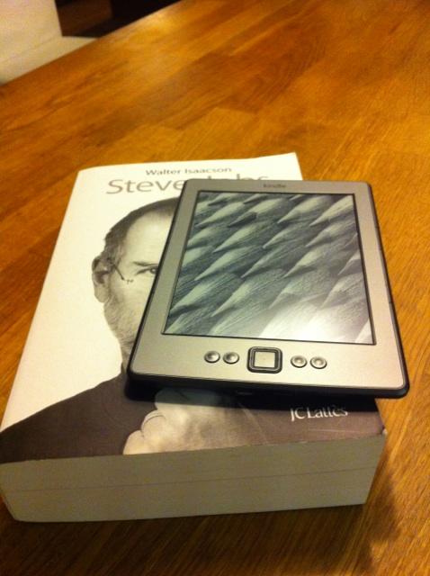 Lire Un Livre Sur Tablette : livre, tablette, Retour, D'expérience, Kindle