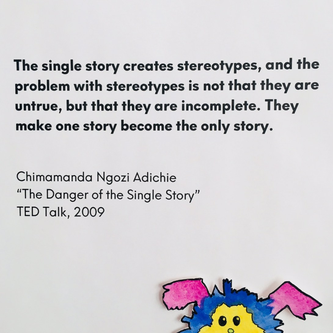 chimamanda adichie, ted talk, stereotype