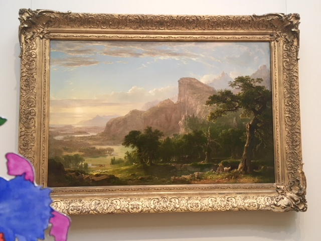 Thomas Cole, American Art, landscape, Hudson River School