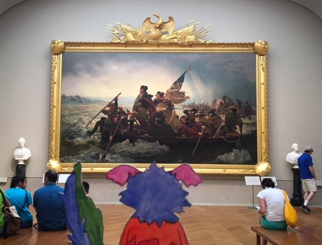 Leutze, George Washington, American Art, American History
