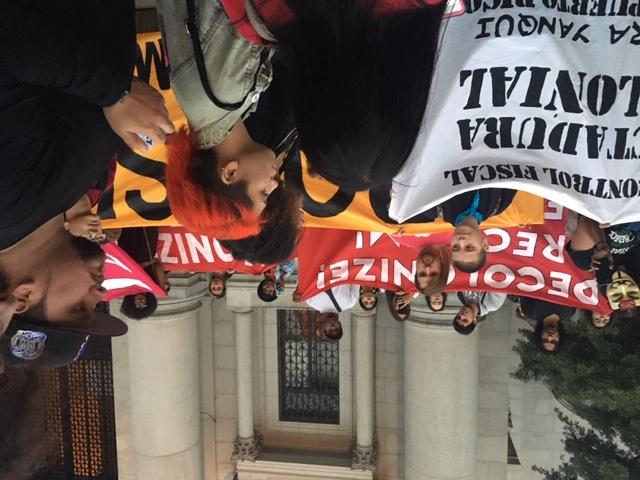 AMNH protest