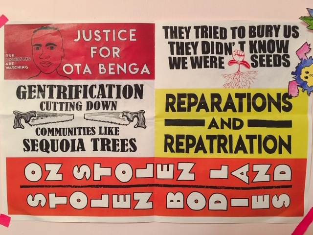 reparations, repatriation, gentrification