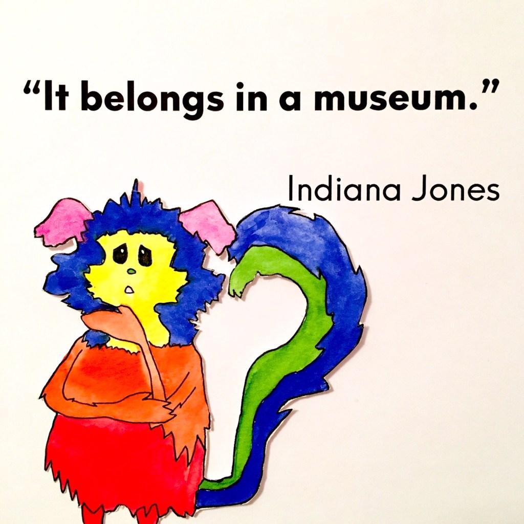 Marabou, Indiana Jones