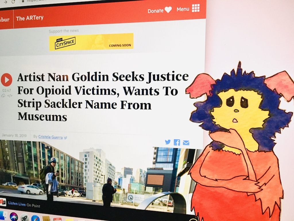 Sackler, Nan Goldin