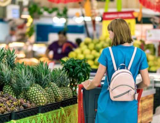 Maracujá Roxo no supermercado