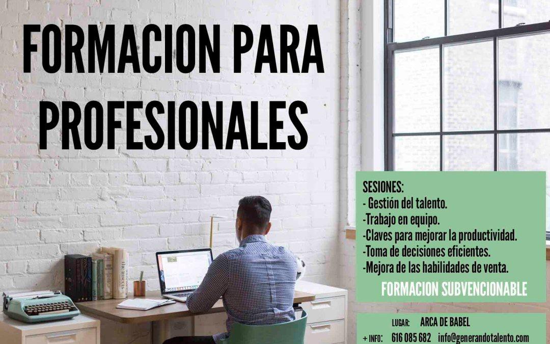 Formación para profesionales en Tenerife
