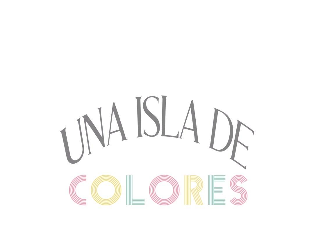 una isla de colores