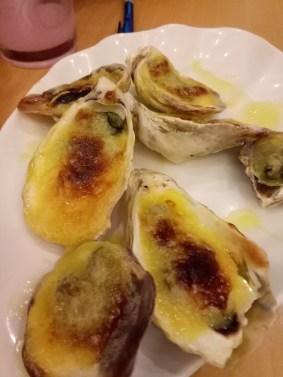 The best food item on the Zensho menu. I love you, dearest oysters!!!