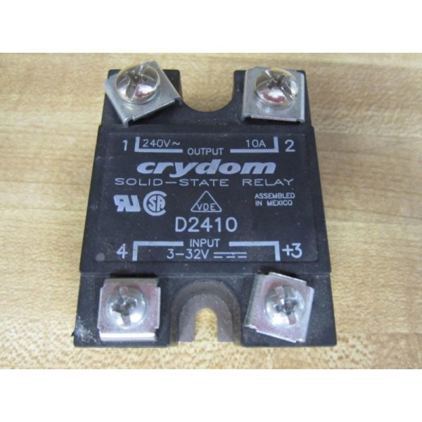 Crydom D2410 Solid State Relay - Used Mara Industrial