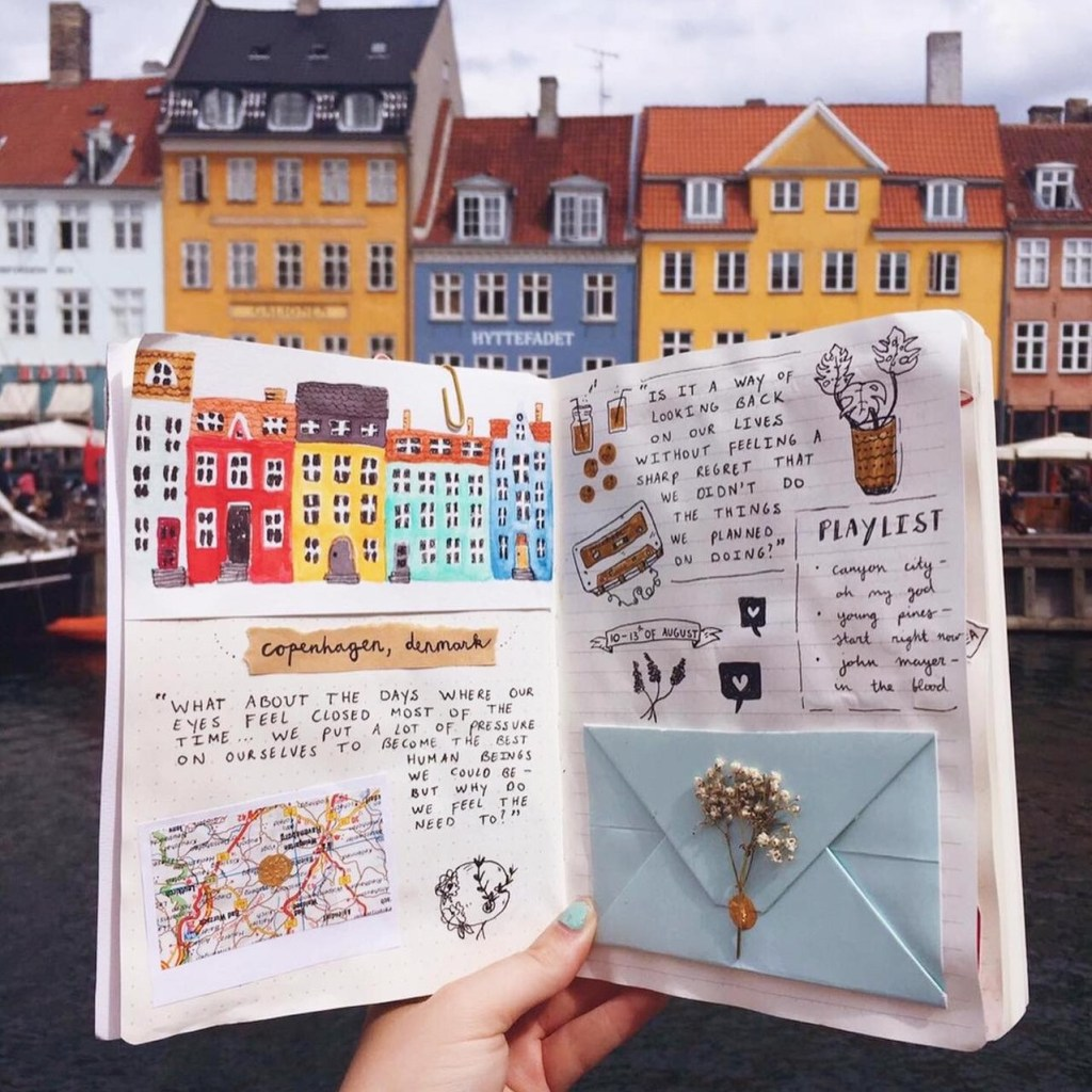 art-journal-seite-by-mereljournals