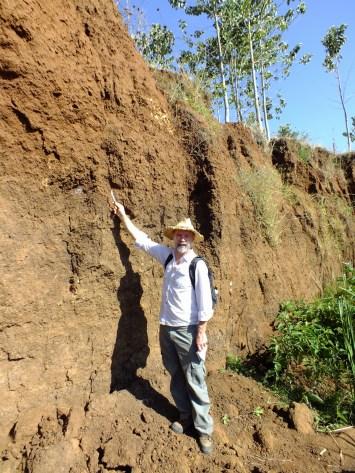 Soil profile Embobut River