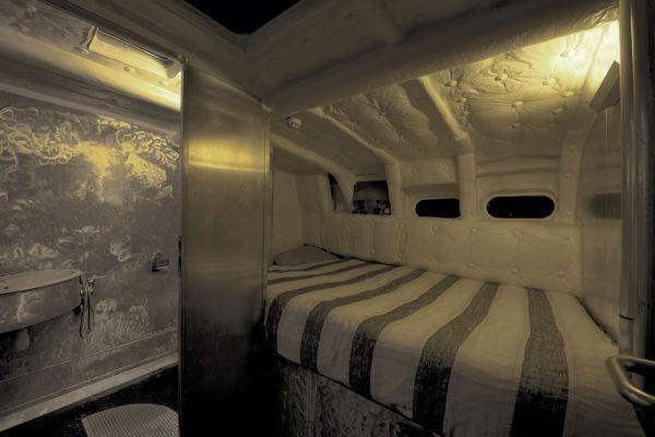 Marama expeditions croisiere voilier intérieur