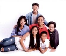 강정은가족사진