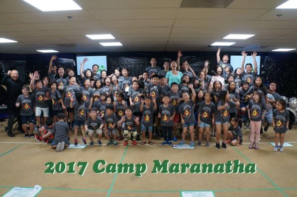Maranatha Vision - 2017 CampMaranatha
