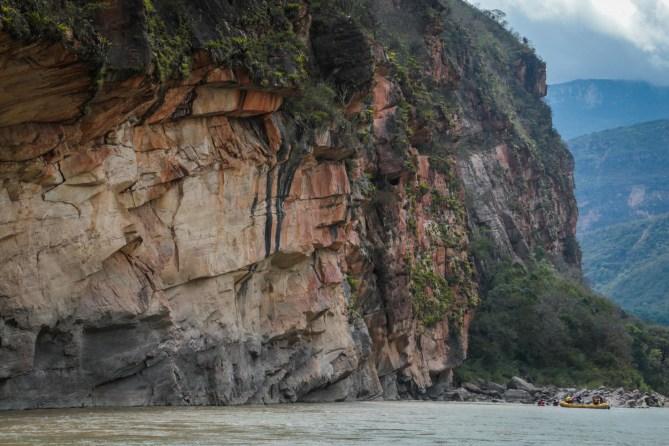 Veracruz dam site on the Marañón