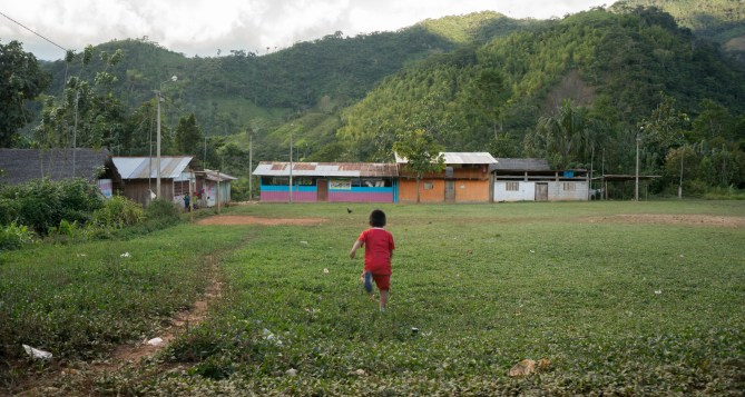 Indigenous Awajún Village of Tutumberos is located within the area of direct influence.
