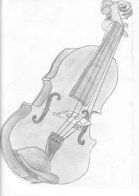 Miquel toca el violín