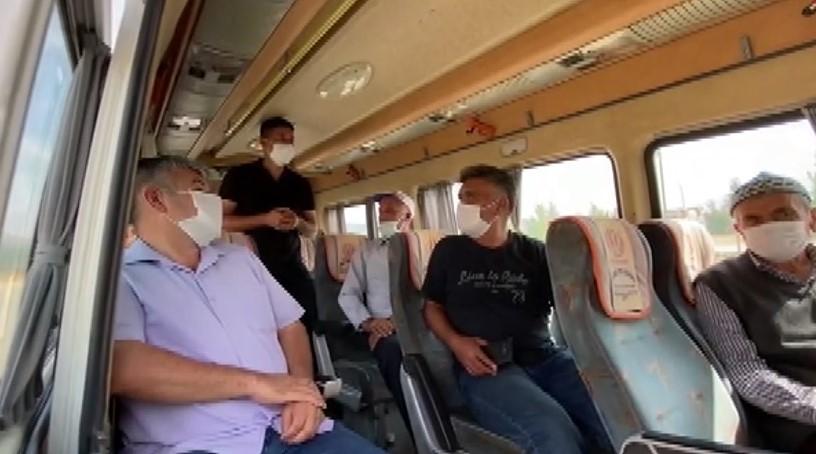 Jandarmadan minibüslerde gizli denetim