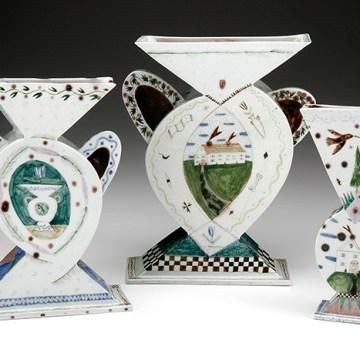 """Mara Superior, """"3 Vases"""", 1984"""