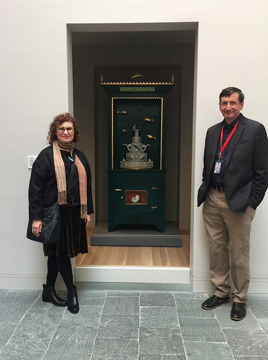 Mara Superior & Dean Lahikainen, The Carolyn and Peter Lynch Curator of American Decorative Art at the Peabody Essex Museum.