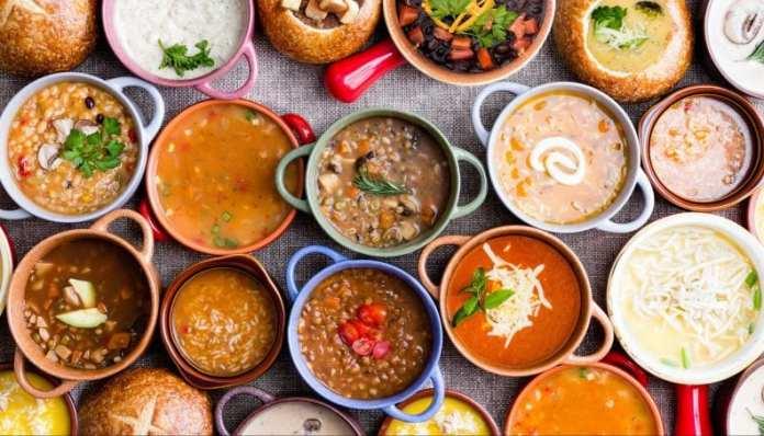 Receitas de sopa para emagrecer rápido
