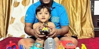 Bhau Kadam With Daughter