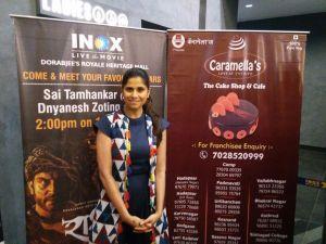 Team Raakshas Promotes Film DMCS Short Film Festival Pune