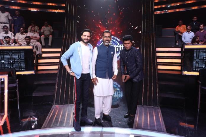 Ankush Chaudhari And Siddharth Jadhav In KHC