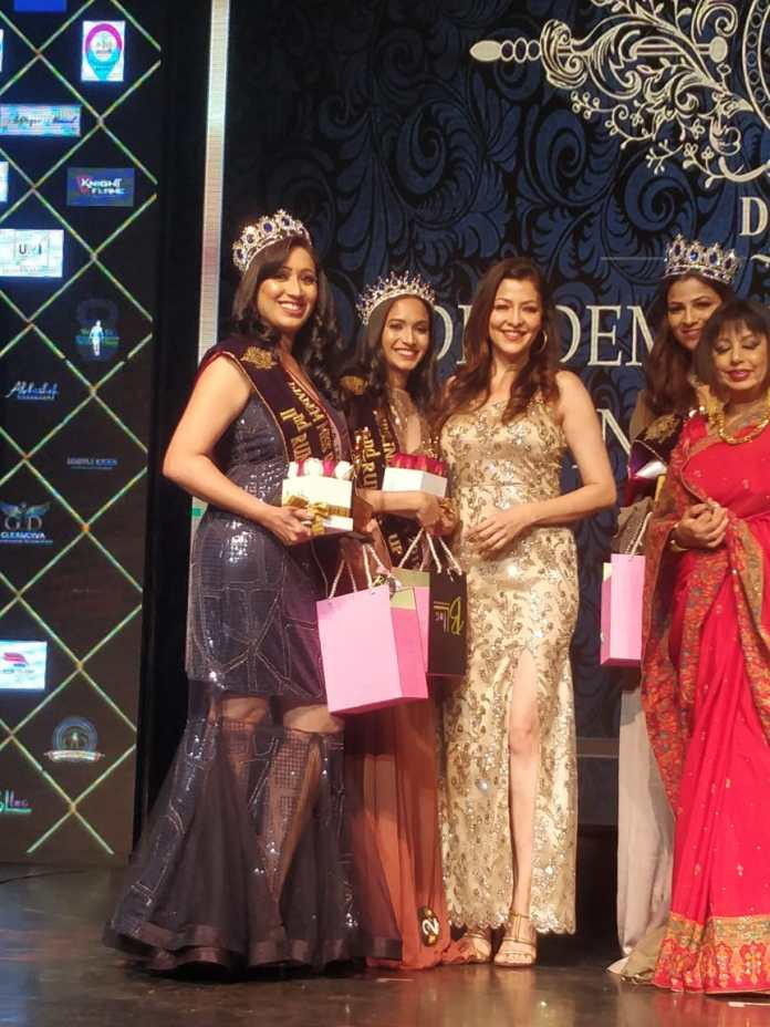 Dr. Manjusha Clinches Title In Diadem Mrs India Legacy 2019