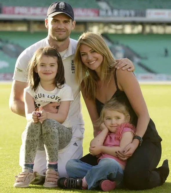 James Anderson With Family