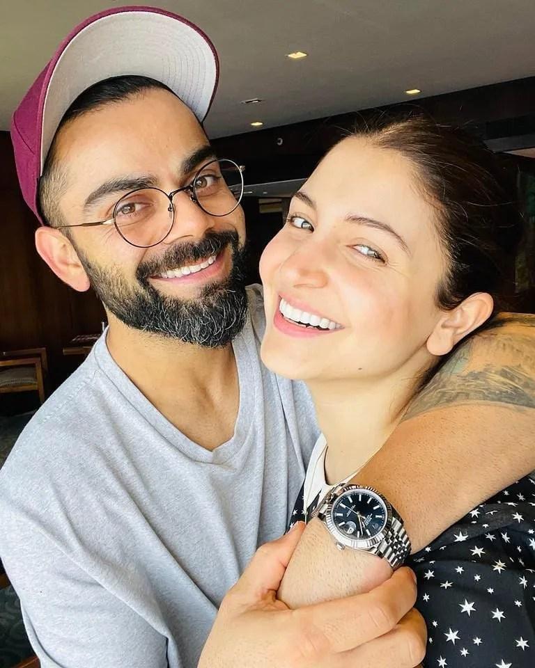 Virat Kohali with Anuksha Sharma