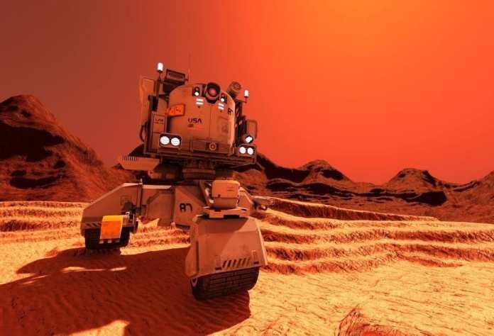 US spacecraft lands on Mars