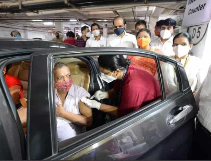 drive in vaccination in mumbai