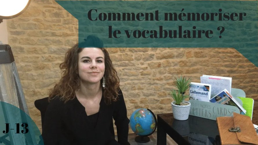 memoriser-vocabulaire
