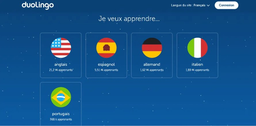 duolingo application gratuite