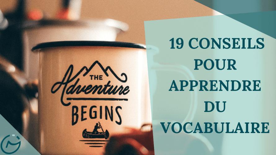 apprendre vocabulaire rapidement