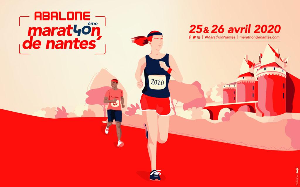 communiqué le marathon de nantes devient Abalone Marathon de Nantes