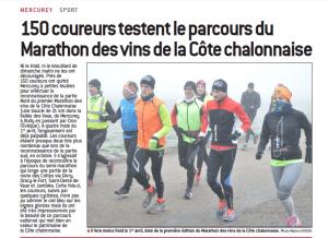 Reconnaissance Marathon des Vins de la Côte Chalonnaise