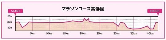 水戸黄門漫遊マラソン コース 高低差