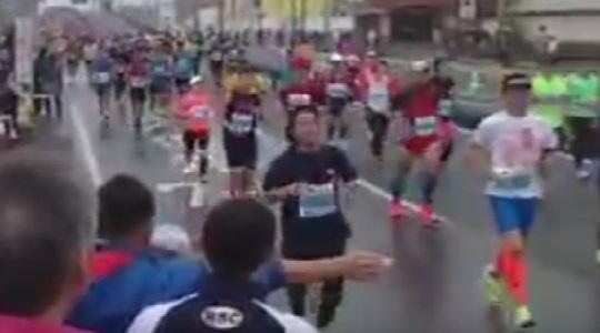 おかやまマラソン 応援ポイント 2016