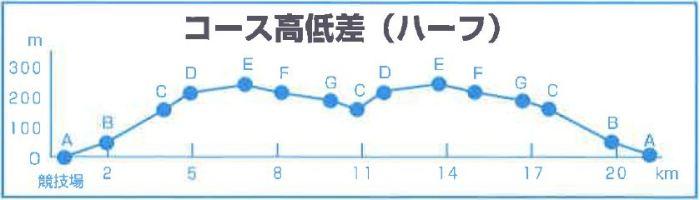 富士裾野高原マラソン コース 高低差