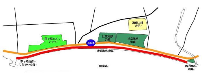 湘南ビーチラン コース