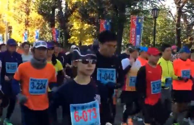 川口マラソン 関門