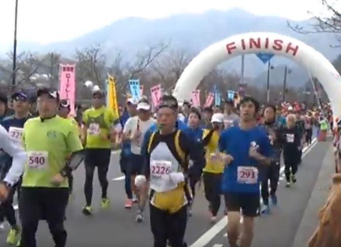 錦帯橋ロードレース 関門