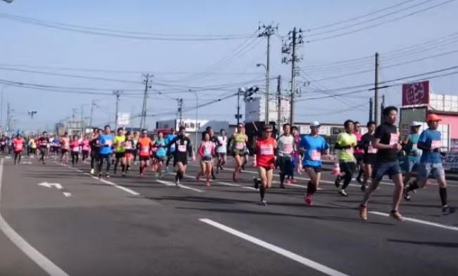 新潟ハーフマラソンのコース攻略法
